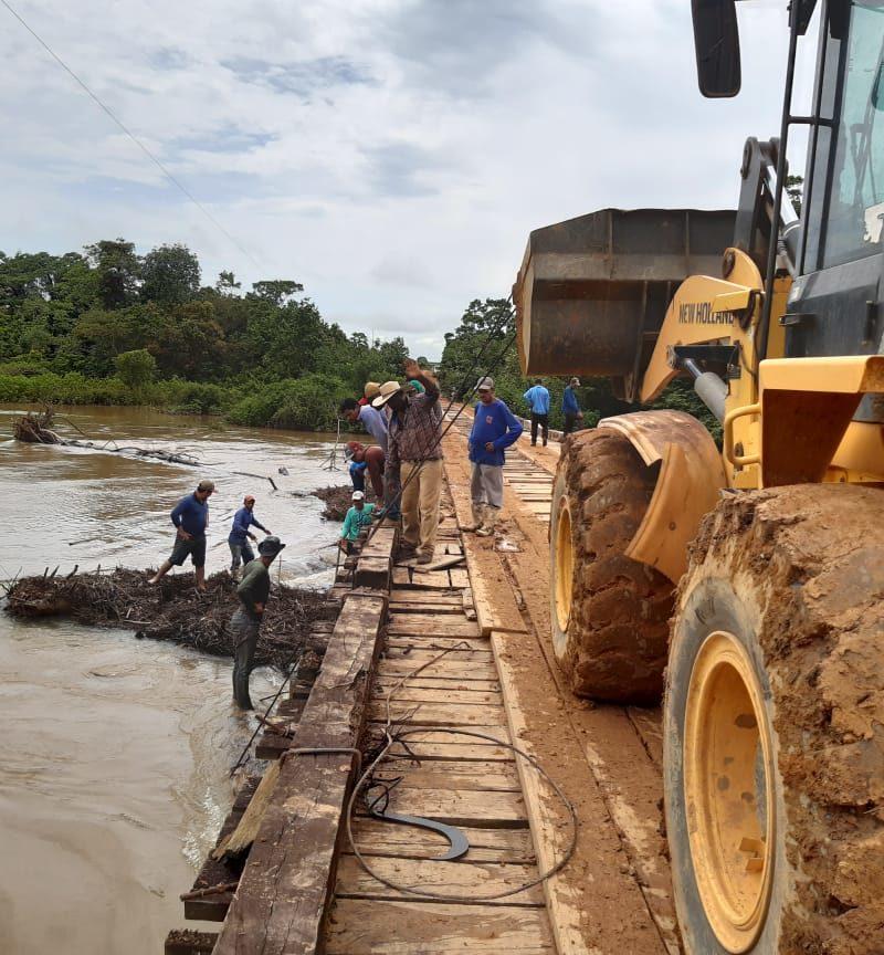 Ação rápida impediu destruição de ponte em Rio Pardo