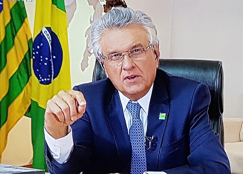Caiado diz ser inadmissível queda de braço, e que Bolsonaro vai mudar
