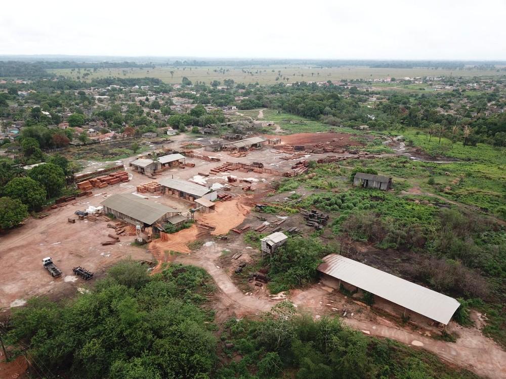 PF apreende madeira ilegal e bens no distrito de Jaci Paraná
