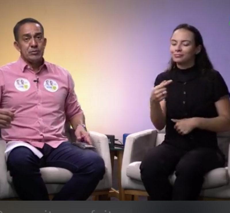 """Live """"Dá para fazer mais"""" une internautas e Eyder Brasil"""