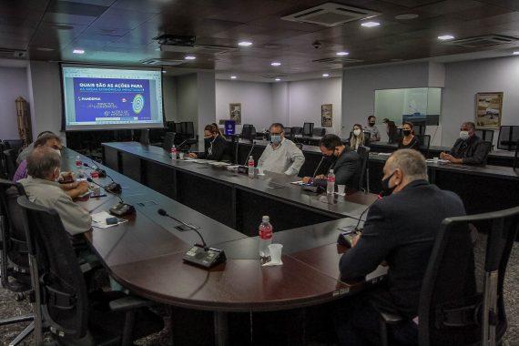 Comitê discute ações para reduzir efeitos negativos da pandemia na economia de RO