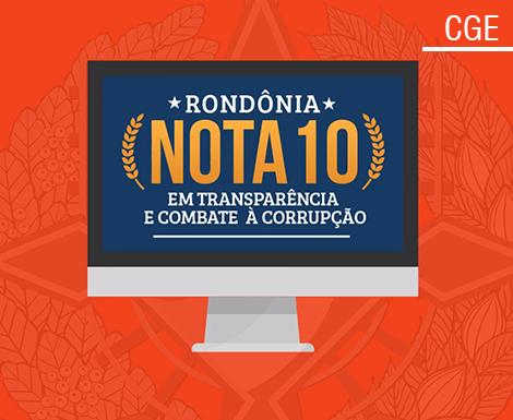 RO ocupa o 1º lugar no ranking de transparência internacional nos gastos com a Covid-19