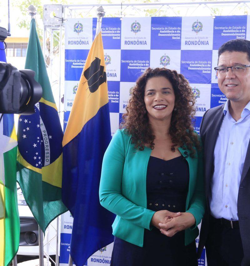 Governo de Rondônia: casal Rocha segue internado e faz uso de mascara de ventilação