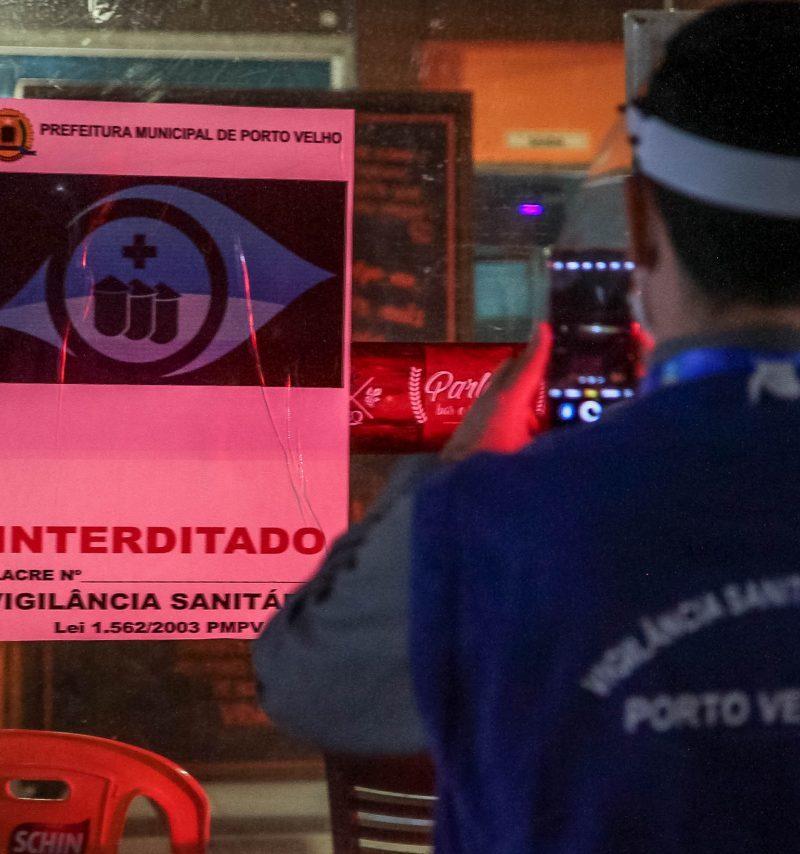 Operação resulta em 164 ações de fiscalização em Porto Velho