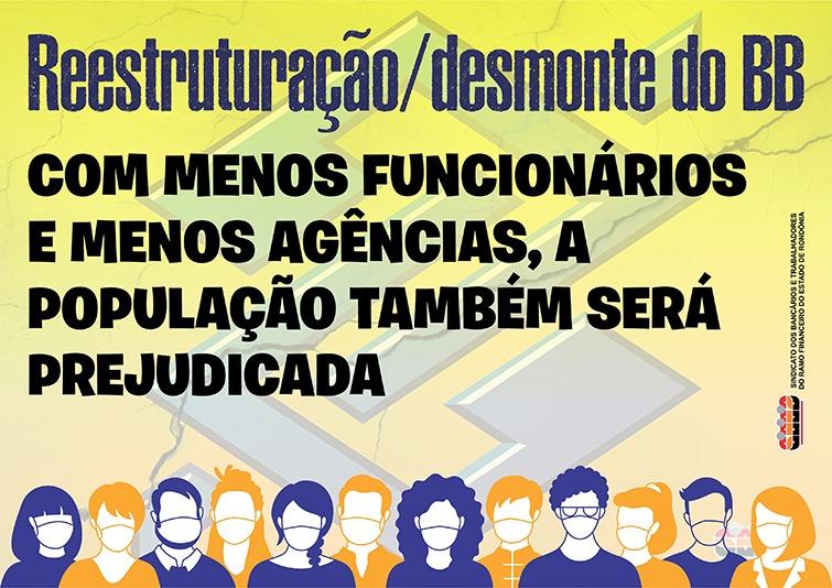 Bancários do BB em Rondônia param no dia 29 em protesto contra reestruturação