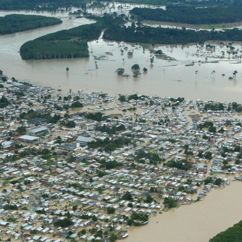 Enchente: Cameli decreta estado de calamidade pública em 10 cidades do Acre