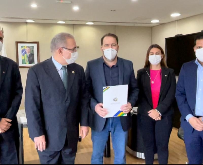 Parlamentares de RO pedem mais vacinas e equipamentos para o ministro Queiroga
