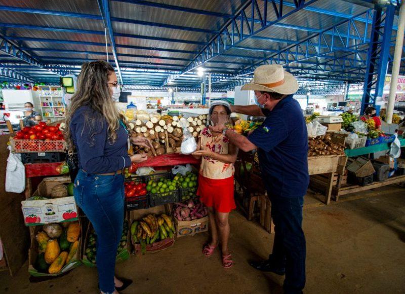Covid-19: Seagri entrega mais de 400 kits de prevenção para produtores rurais de Ariquemes