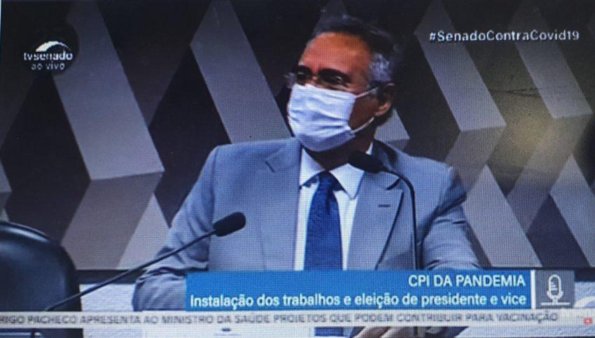 """""""A diretriz é clara: militar nos quartéis e médico na saúde; temos de explicar o que ocorreu,"""" diz Renan"""