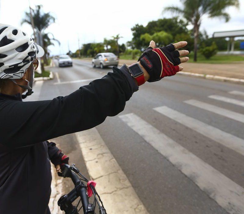 Brasília: Respeito à faixa de pedestre reduz em 83% número de atropelamentos
