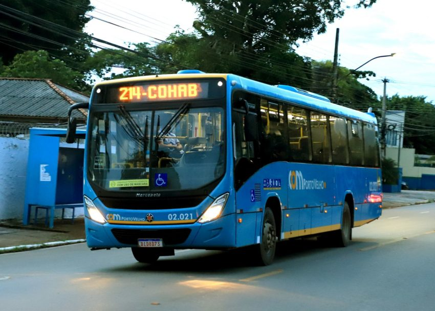 Com subsídio de R$ 6 mi, prefeitura de Porto Velho assegura transporte público mais barato