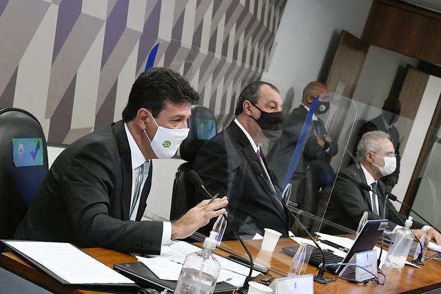 Mandetta diz que o governo não quis fazer campanha de comunicação contra a Covid 19
