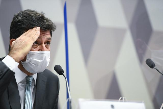 Em carta a Bolsonaro, Mandetta alertou sobre colapso na saúde e pediu para presidente rever posicionamento